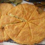 Либум - жертвен хляб със сирене от древен Рим. Докато се пече, кухнята ви ще се изпълни с божествен аромат!