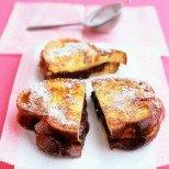 Сладък грях - шоколадови пържени филийки