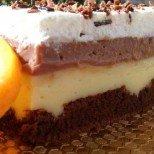 Крем торта на дупки за специални поводи