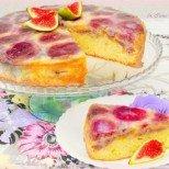 Сладкиш с пресни смокини - толкова свеж и нежен!