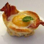 Английска закуска във форма за мъфини