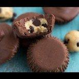 Бързи и вкусни шоколадови мъфини без печене