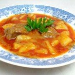 Картофена яхнийка с телешко месо - вкусно и много лесно!