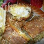 Златна баница със сирене и царевично брашно