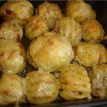 Картофено ветрило с шунка и кашкавал - елементарно, но гениално (рецепта в снимки)