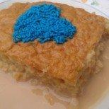 Кох от ориз - вкусен и сочен карамелен сладкиш със сутляш