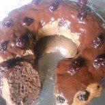 Шоколадов пудинг кекс - много мекичък и сочен, идеален с чаша горчиво кафе!