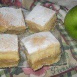 Ябълкова крем пита с вкус на есен