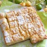 Гръцка пита с крема сирене и кисело мляко - с нежна сърцевина и хрупкава коричка