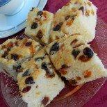 Прост и лесен, без капка мазнина - чуден сладкиш със сушени плодове