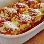 Лазаня-рулца в доматен сос - да ти потекат лигите!
