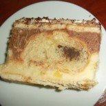 Истински екстаз: бисквитена торта с кроасани, крем и шоколад - не се колебайте, страхотна е!