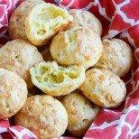 Лесно и елегантно по френски - въздушни хапчици със сирене