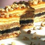 Еврейски сладкиш - преливащи багри и вкусове, истинско произведение на изкуството!