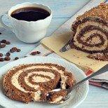 Евтино и вкусно: Шоколадово руло с кафе и смлени бисквити