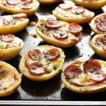 Печени пица-картофки - нещо лесно и интересно