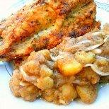 Идеалната вечеря за чаша бира: панирана риба с картофена салата