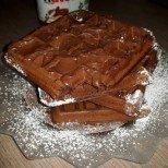Шоколадови вафли за шоколадов старт на деня