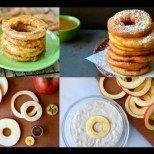 Хрупкави ябълкови кръгчета с канела - десертът, който няма да ви остави равнодушни! Вижте как (ВИДЕО)!