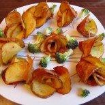 Пържени картофени розички