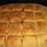 Босненска сеченица със сирене - нещо като баница, ама не съвсем