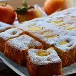 Топи се в устата: въздушен ябълков сладкиш със сметана - мек и пухкав като облаче