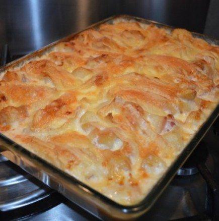 Тартифлет - нещо бързо и вкусно с картофи от френската кухня