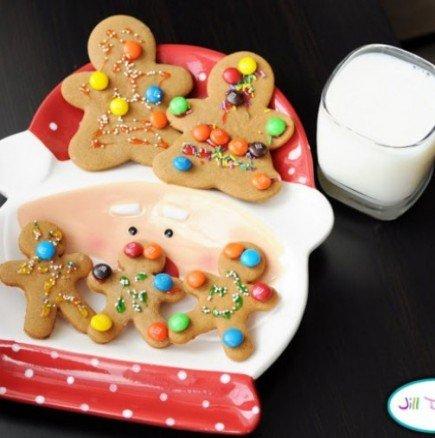 Идва Коледа! Пригответе заедно с децата си тези симпатични джинджифилови човечета!