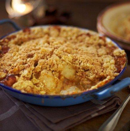 Сензационно: ябълков десерт, който топи килограми