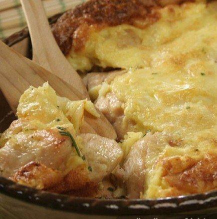 Специално пиле по баджанашки - сочно, крехко и умопомрачително вкусно