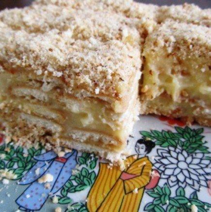 Толкова е бърза и лесна, че ще си я забърквате всеки ден - вдъхновяваща бисквитена торта с нежен крем