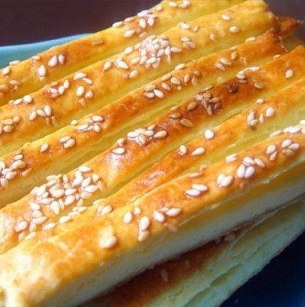 Вкусни соленки с кашкавал Гриз-гриз