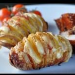 Чудех се как да си направя картофите тази вечер по по- различен начин и тогава видях тази рецепта по телевизията, е не сгреших