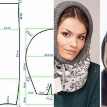 Супер модна тенденция за зимата-Как лесно да си направите сами шапка-качулка