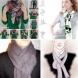 Времето на шаловете идва съвсем скоро-Запазете тези идеи-Оригинални начини, как да вържем шал или кърпа