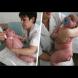 Бебето, което се роди 18 кг е най-голямото в света, но това което няма да повярвате, е колко тежи майка му