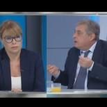 Мира Добрева и шефът на Спешна помощ в голям скандал в ефир-Водещата избухна, обвиниха я в лъжа
