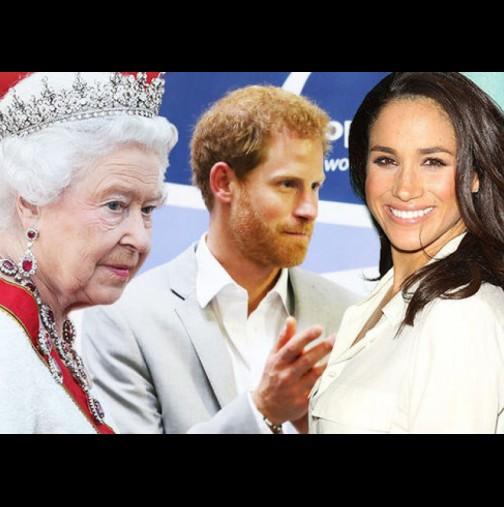 Кралица Елизабет наложи тези железни правила на Меган! Ето какво е да си новата принцеса на Англия