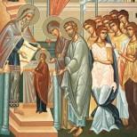 Утре е светъл празник, а вечерта масата се оставя неразтребена, за да дойде Богородица през нощта, да си хапне и да благослови дома