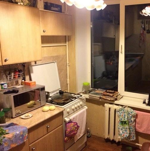 Така изглеждаше старата ми кухня, викнах майстор и му казах да ме изненада, след 2 дена се прибрах и щях да припадна като видях