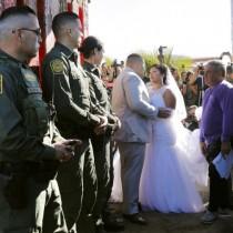 Любов без граници: Една напълно необичайна сватба, която просълзи целия свят (Снимки)