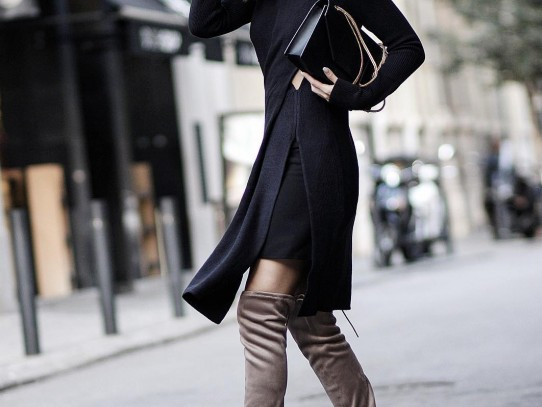 Как да комбинираме високите чизми тази есен и зима