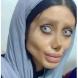 """Наричат я """"мъртвата булка""""-Направени са й повече от 50 операции, за да прилича на Анджелина Джоли, но ето как изглежда след последната"""