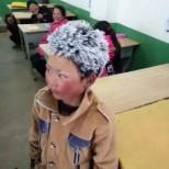Детето със замръзналата коса: Историята на този ученик привлече вниманието на милиони хора в социалните мрежи