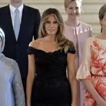 Първата дама на Азербайджан сложи в малкия си джоб Мелания Тръмп, дори с далеч по-скромното си облекло
