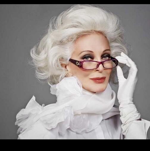 de13a66d01b Възрастта е само число! Десетте най-красиви жени на възраст над 65 години,