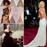 Най-красивите рокли на червения килим на Оскарите досега (Галерия)