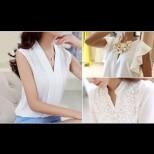 10 прекрасни модела бели блузи, които ще са хит за 2018 (Снимки)