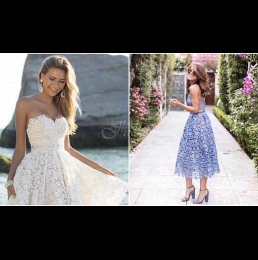 7 очарователни рокли от дантела за лятото, в които ще се влюбите (Снимки)