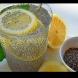 Рецепта за чиа вода с лимон за стопяване на коремчето